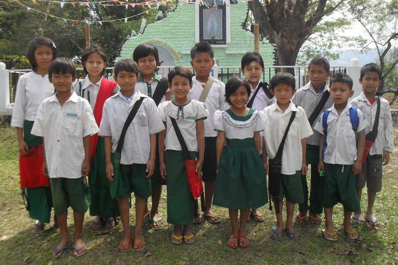 Some helped children
