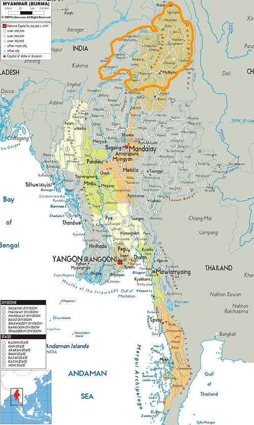 Myitkyina Diocese CHAD Kachin Myanmar