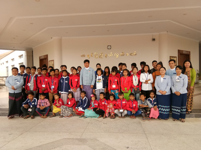 Excursion in the Kachin parliament