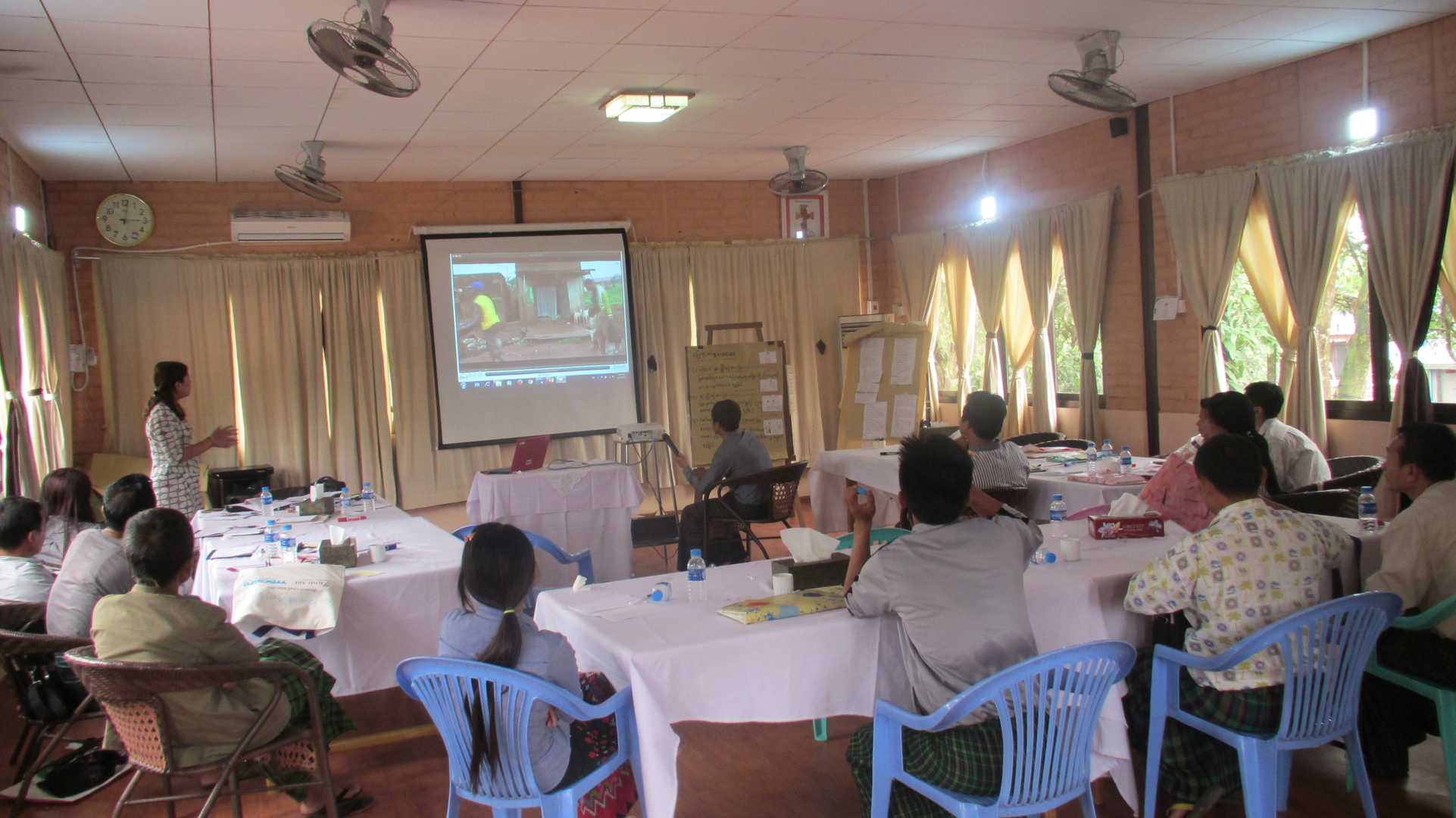 SASA project orientation with IDP Camp Leaders