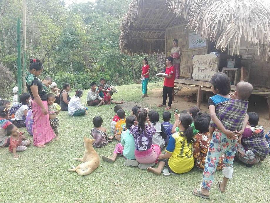 Nutrition awarness Remote area Kachin Myanmar