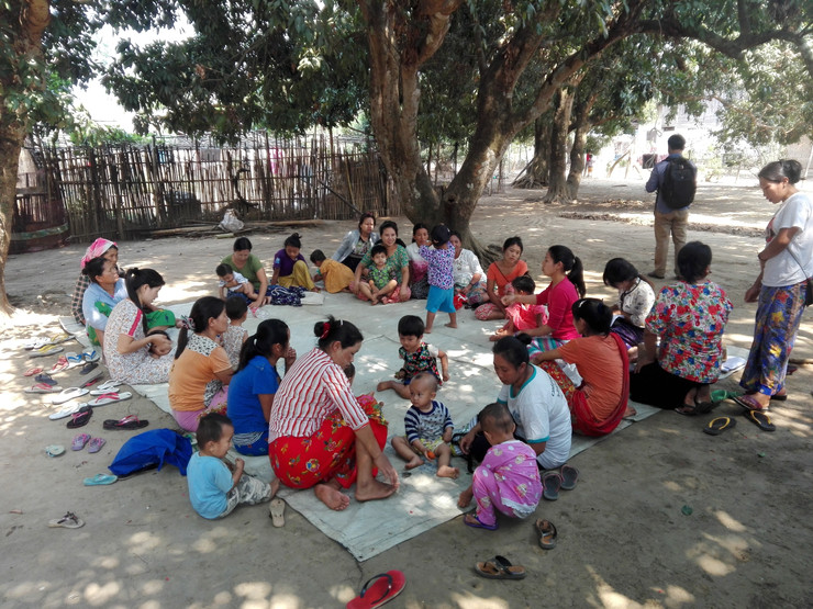 Nutrition mother group discussion