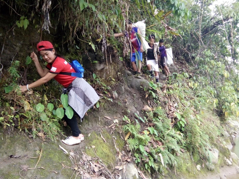 On the road to access N-Jang Yang Township