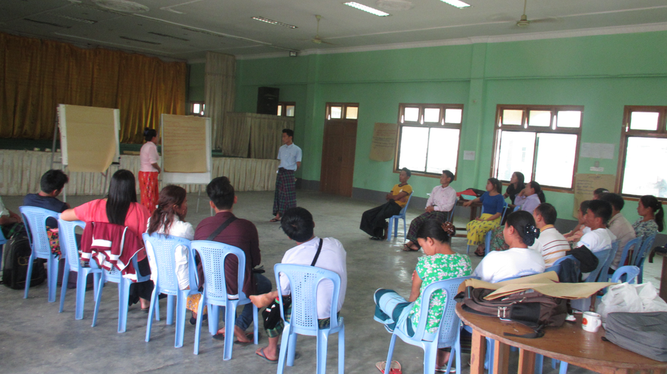 SASA training for Community Mobilizers