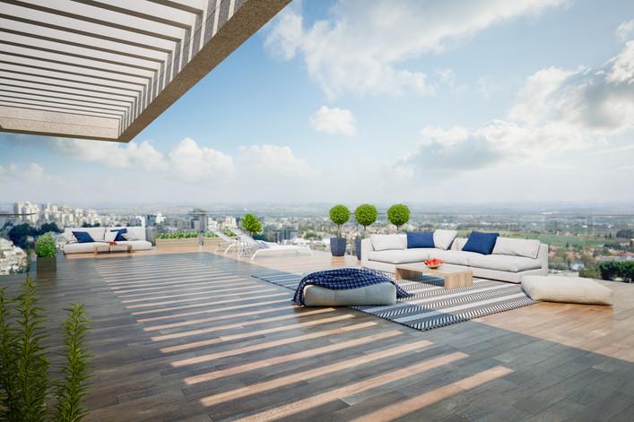 160 sqm Penthouse, Hod Hasharon