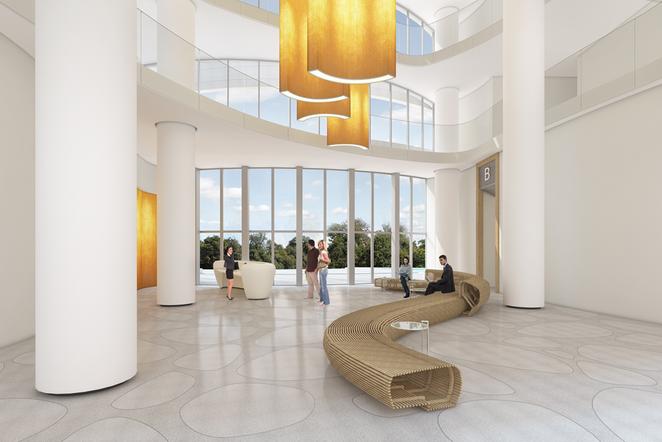Arolorov Towers Lobby, Tel Aviv