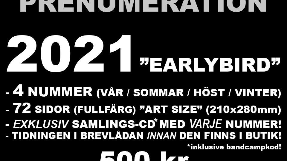 Svartpunkt subscription outside Sweden (issues 5-8)