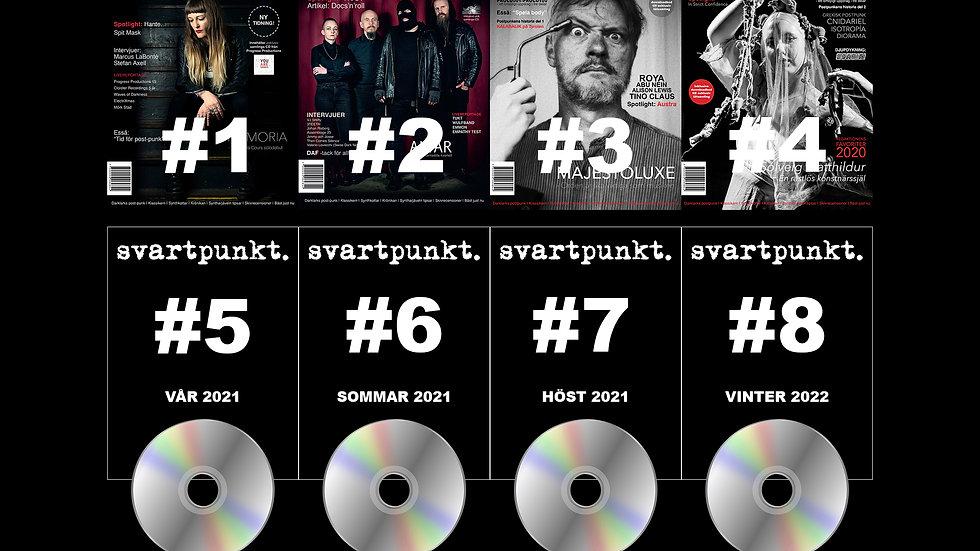 Svartpunkt. prenumeration inom Sverige (nummer 5-8)