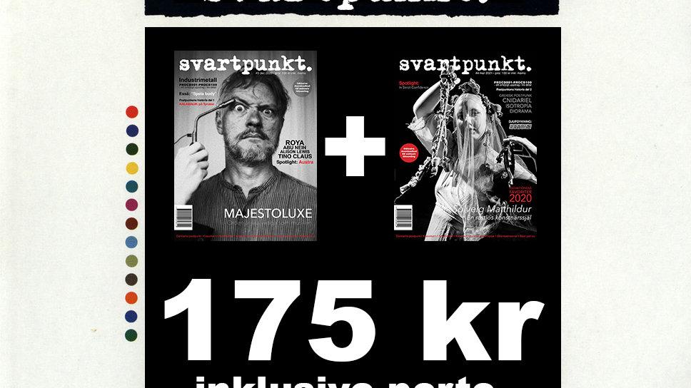 Svartpunkt. #3 och #4 (within Sweden/inom Sverige)