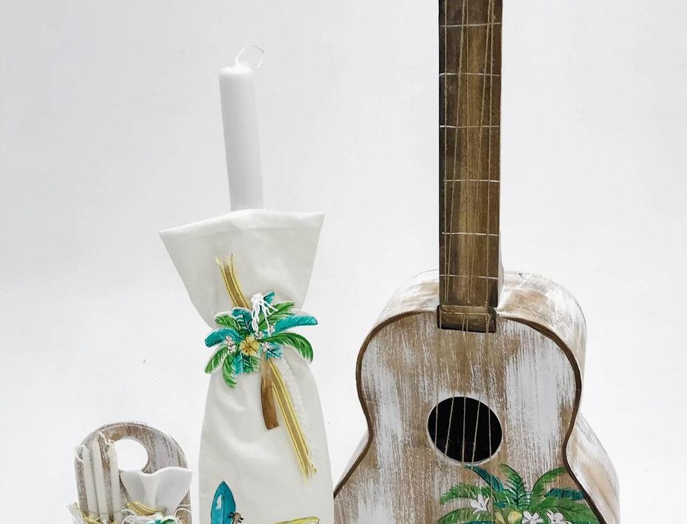 Βαπτιστικό κουτί κιθάρα κλασσική  OCEAN VIBES GUITAR