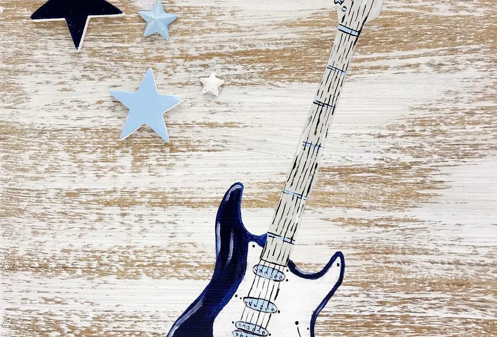 Σετ βάπτισης Ηλεκτρική κιθάρα LET'S ROCK