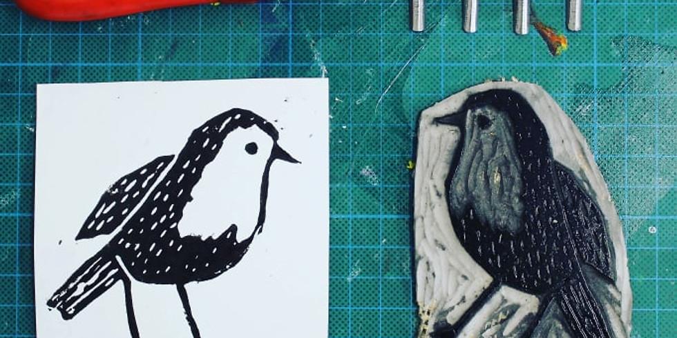 Printmaking Skills 7-12 year old's