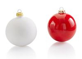 Small Bauble - Ideal for baby handprint