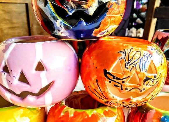 Pumpkin Tea Light Lantern