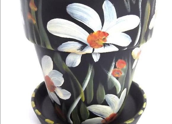 Medium Flowerpot and Saucer