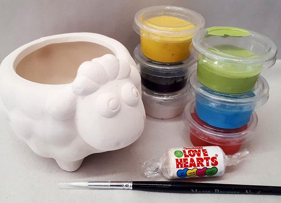 Cute Sheep Pot