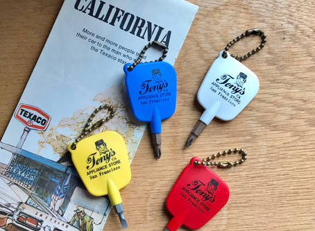"【 NEW COLOR 】""Tony's"" DRIVER KEYCHAIN"