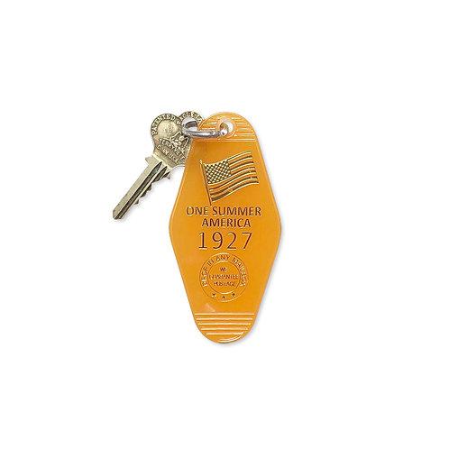 "Motel Key Ring ""One Summer America 1927""(鍵付き)"