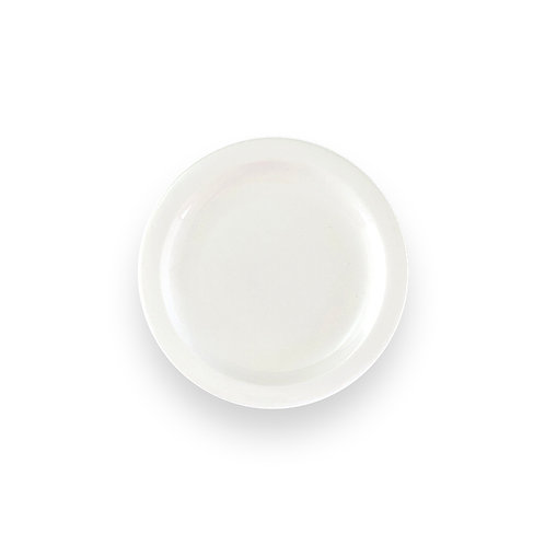 "IVORY HARD TABLEWARE  7.5"" Plate"