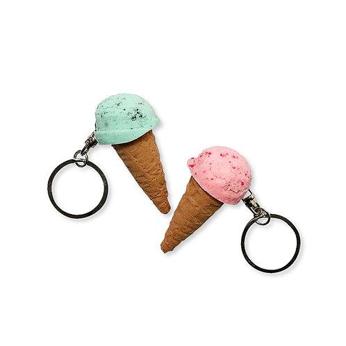 Ice Cream Keyring