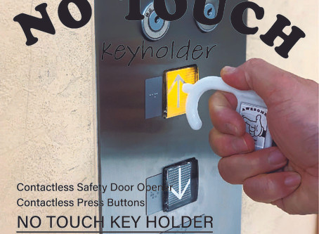 【 Restock + NEW COLOR 】NO TOUCH KEY HOLDER