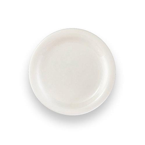 "IVORY HARD TABLEWARE  9"" Plate"
