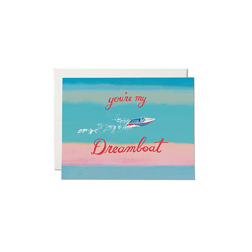 "RED CAP CARDS  ""DREAMBOAT"""