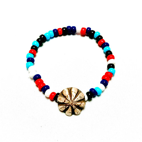 BUTTON WORKS  BEADS BRACELET CONCHO ボタンワークス コンチョ