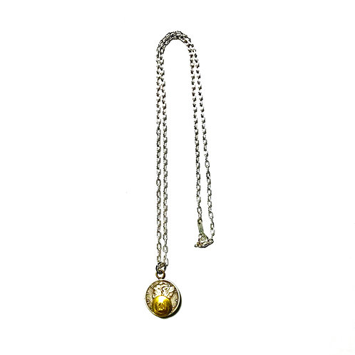 BUTTON WORKS  MERCURY DIME NECKLACE ボタンワークス ネックレス