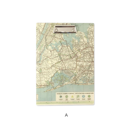 Old Map Line_Binder in old map A4