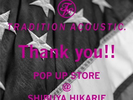 Thank you!! TA. POP UP STORE