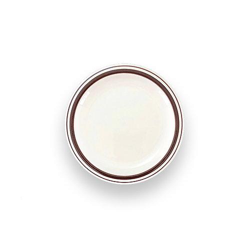 """BROWN LINE HARD TABLEWARE  7.5"""" Plate"""