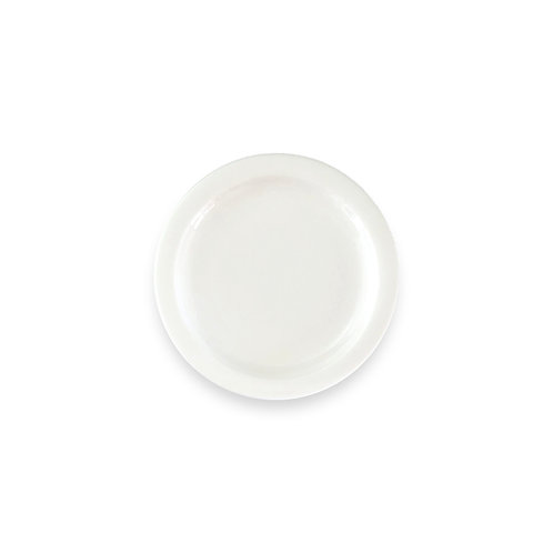 "IVORY HARD TABLEWARE  6.5"" Plate"