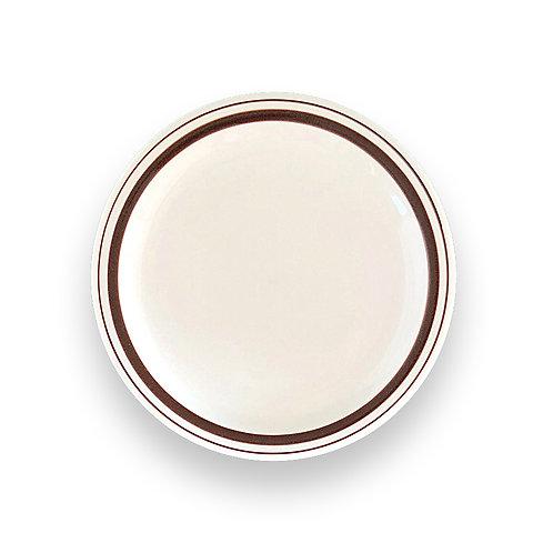 """BROWN LINE HARD TABLEWARE  10"""" Plate"""