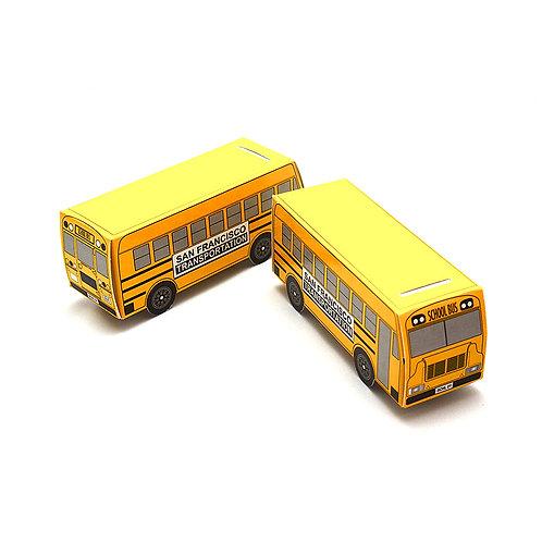 """Paper Bank """"SCHOOL BUS"""""""