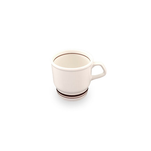 BROWN LINE HARD TABLEWARE  Mug Cup