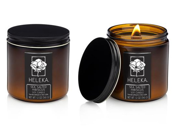 Heleka Hand-Poured Local Garden Inspired Candles