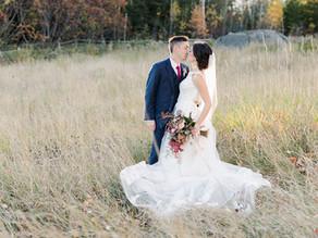 Romantic October Wedding at Locke Falls Farm