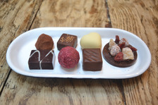 Promotional photographs for local chocolatier