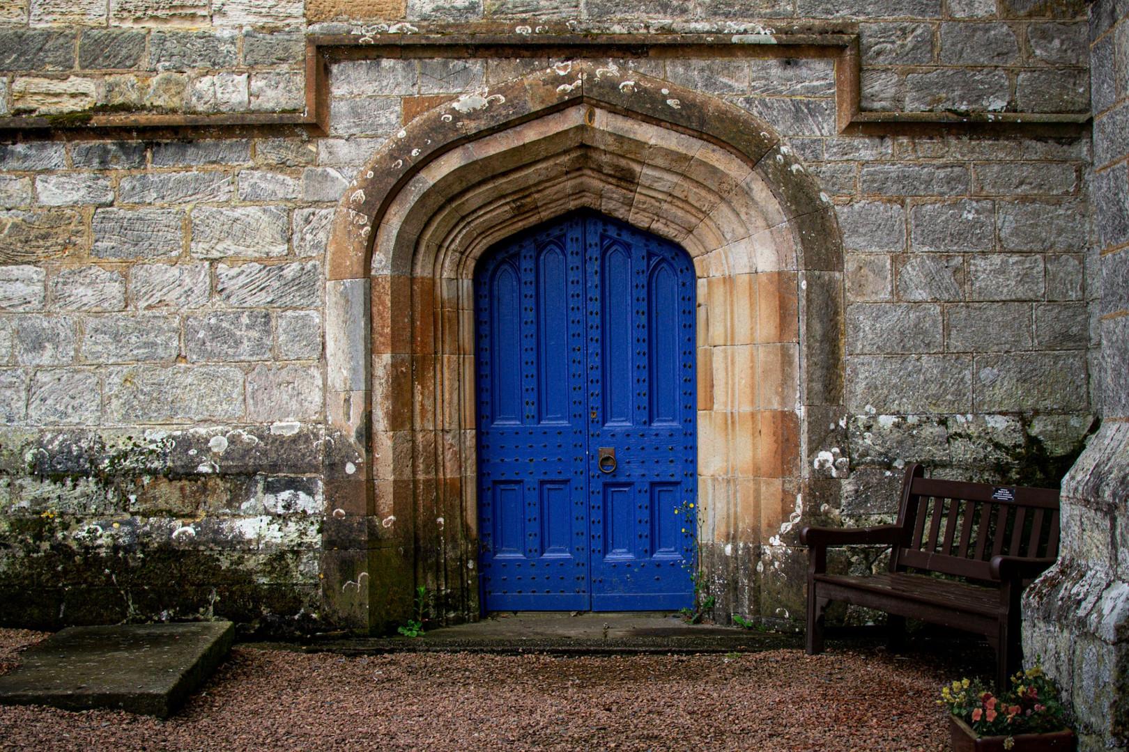 Door studies, St Monans