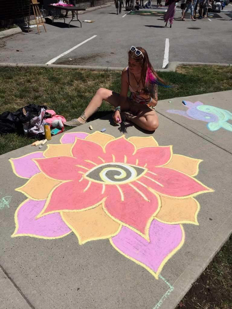 Burnaby Chalk Art Festival