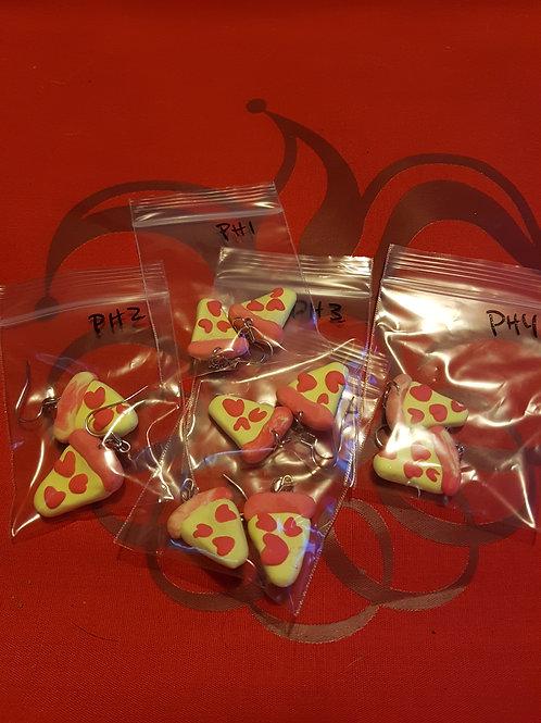 Pizza my heart - earrings
