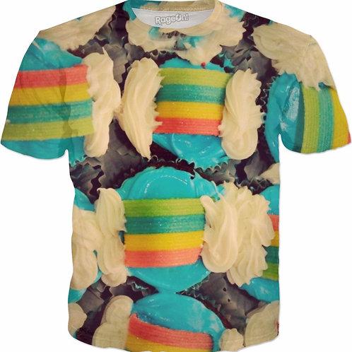 Rainbow cupcakes yo
