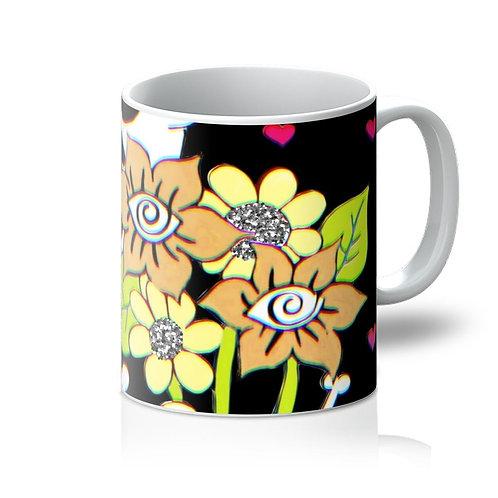 """Zanoskull - """"Bouquet of Flowers"""" Mug"""