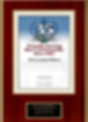 Bar Certificate