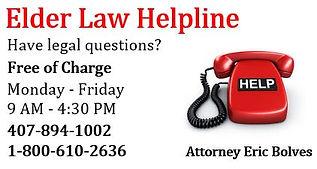 Elder Law Helpline