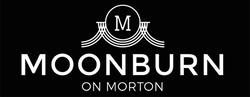 Moonburn on Morton logo