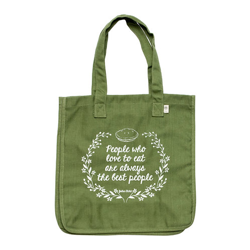 People Who Love To Eat Tote Bag
