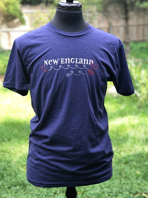 Unisex New England States Tee