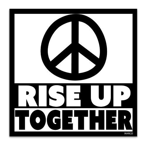 Rise Up Together Magnet